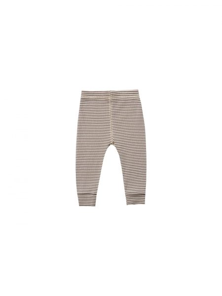 Quincy Mae Ribbed L/S Onesie (natural)