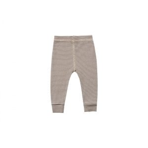 Quincy Mae Ribbed Legging (charcoal stripe)