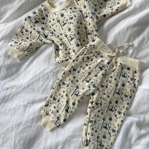 By Billie Cambre Printed Overalls