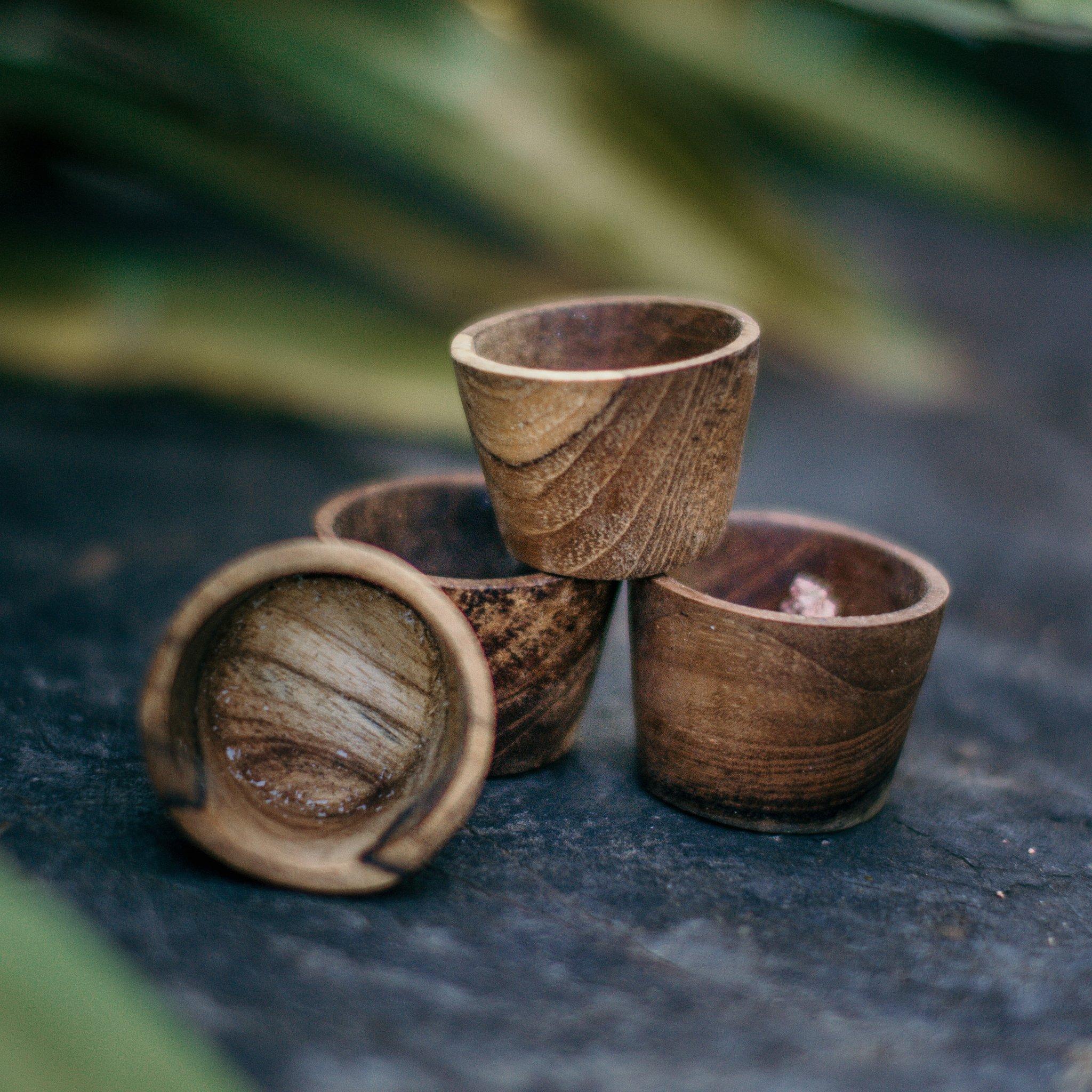 The Little Potion Co Mini Wooden Ingredient Pots