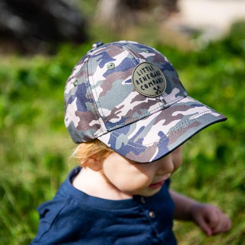 Little Renegade Camo Baseball Cap