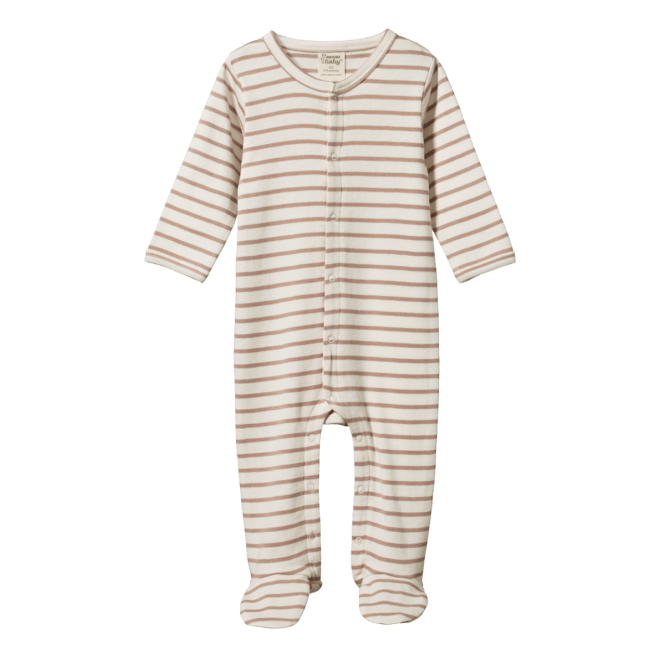 Nature Baby Stretch and Grow (nougat sailor stripe)