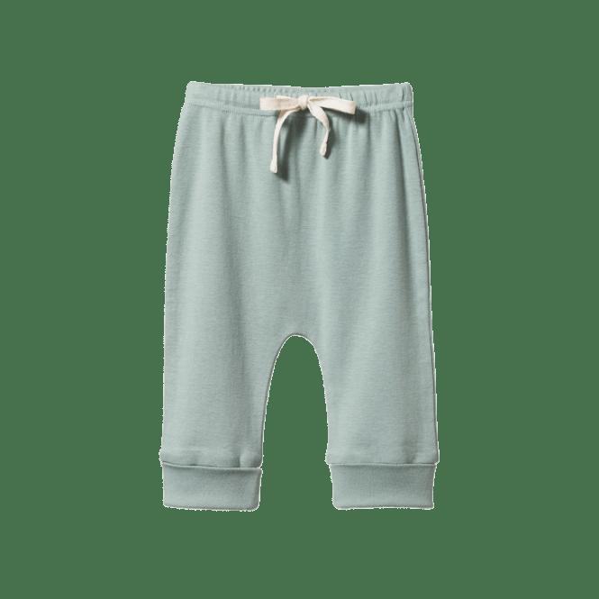 Nature Baby Cotton Drawstring Pants (lagoon)