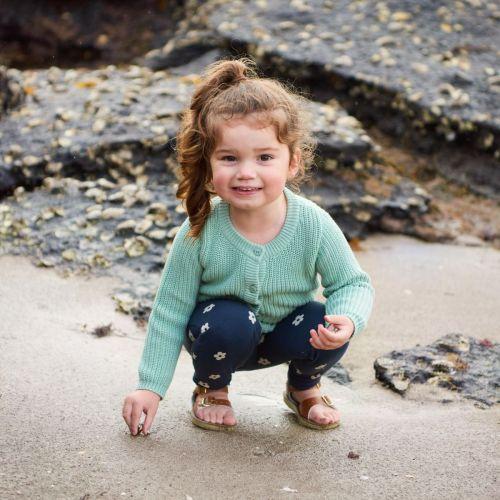 Nature Baby Aubrey Terry Sweater (surf)