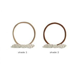 Quincy Mae Little Knot Headband (basil stripe)**PRE ORDER