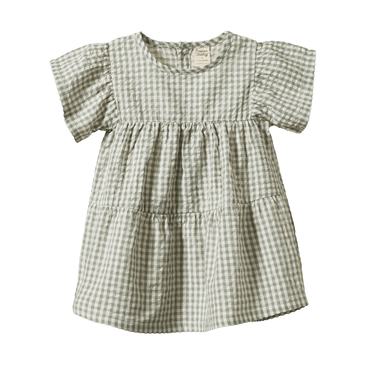 Nature Baby Esther Dress (lagoon check)