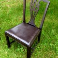 Spray Painted antique chair