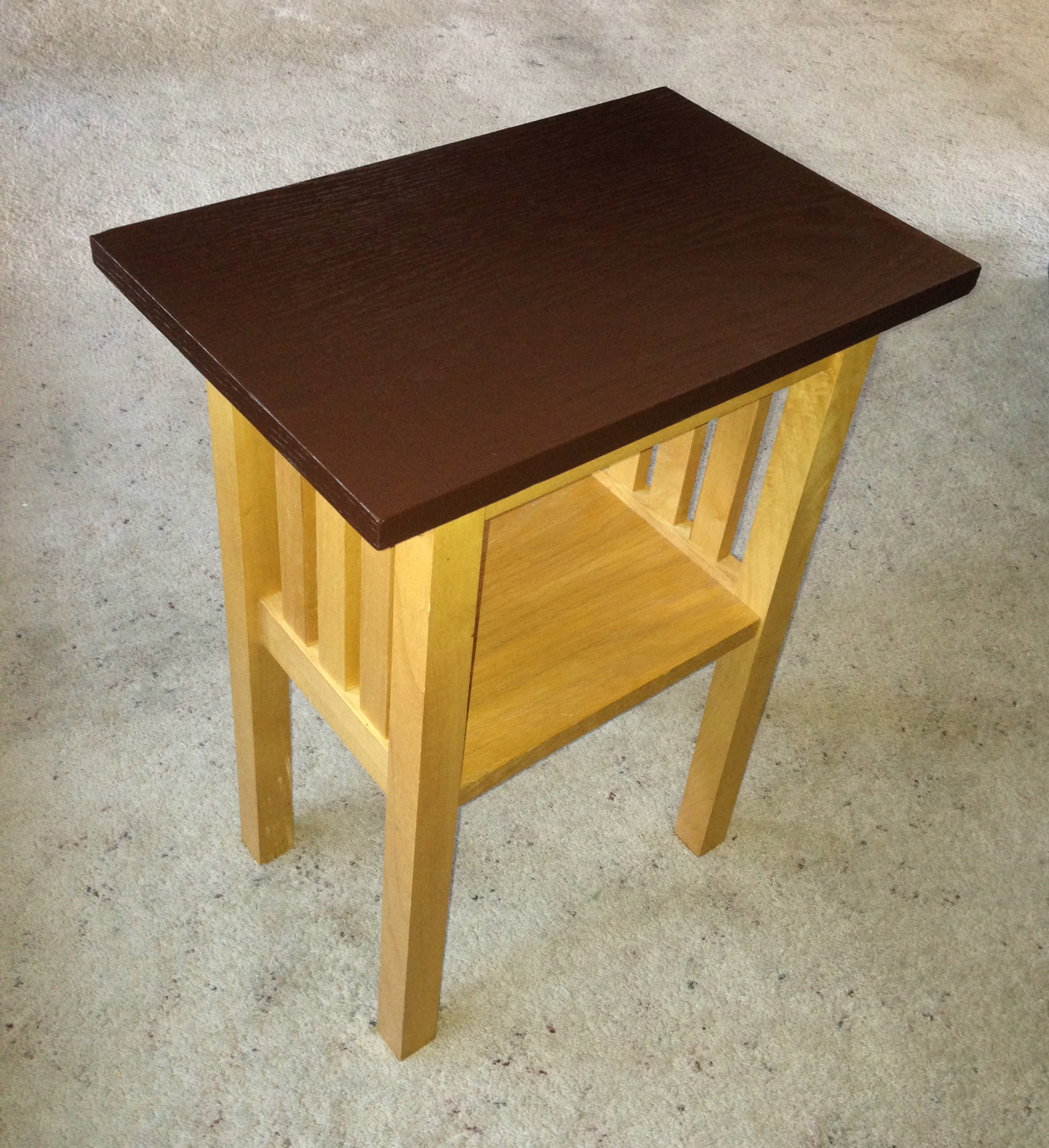 Easy Diy Rescue Of A Damaged Side Table Love My Diy Home