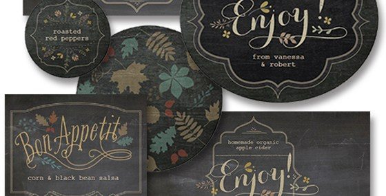 Printable Labels for Your Foodie Fall Gifts from Lia Griffith