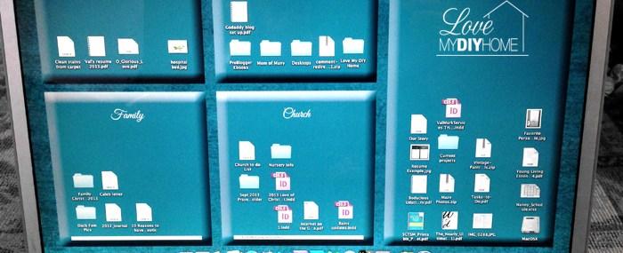 DIY Designer Desktop