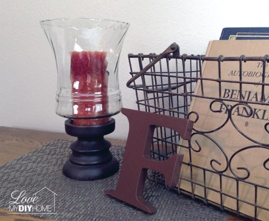 Reuse your old decor by changing it up