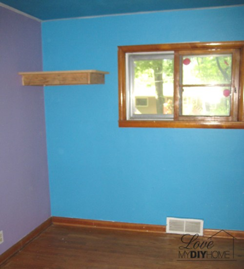 Blue Room Before | Love My DIY Home