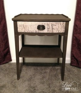 Antique Night Stand {Love My DIY Home}