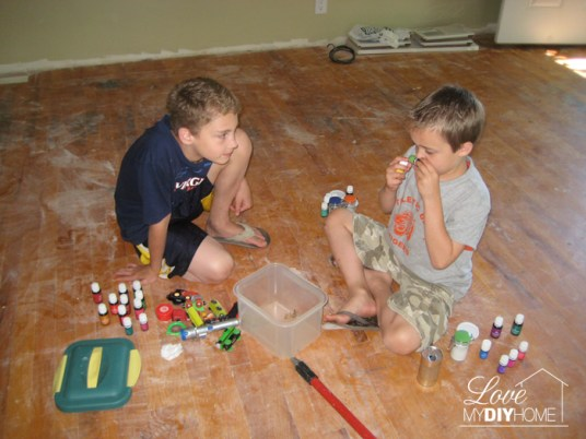 Use Young Living Essential Oils to protect your kids!