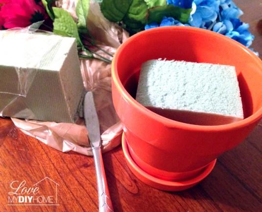 Summer Floral Arrangement {Love My DIY Home)