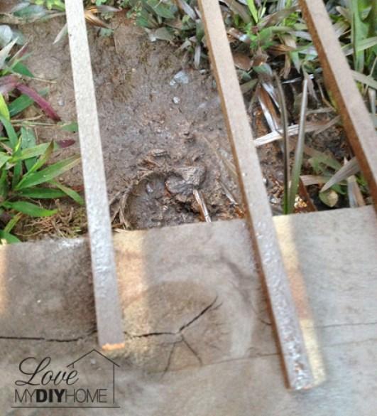 DIY Pallet Deck Island {Love My DIY Home}