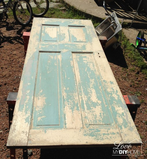 Antique Door Upcycle {Love My DIY Home}