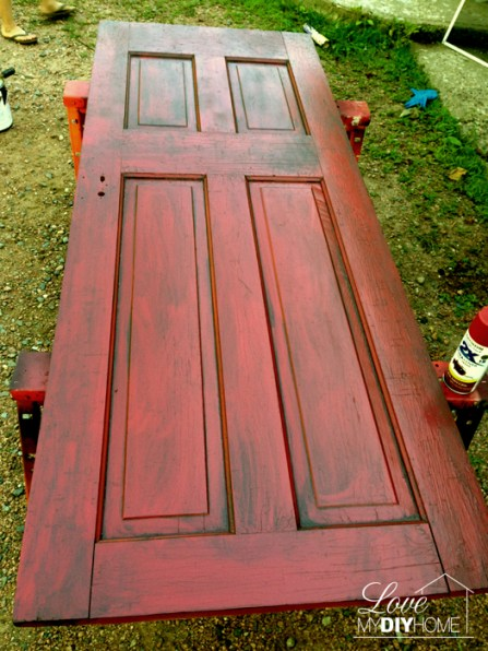 Red door painted2