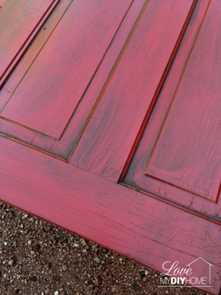 Red door painted4