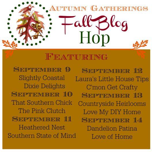 Autumn Gatherings Fall Blog Hop {Love My DIY Home}