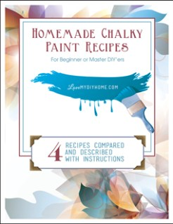 Homemade Chalky Paint Recipes {Love My DIY Home)