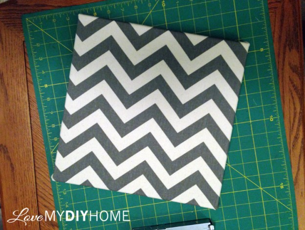 DIY Duck Cloth Canvases {Love My DIY Home}