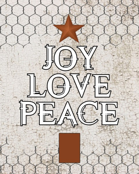 Merry Christmas {Love My DIY Home}