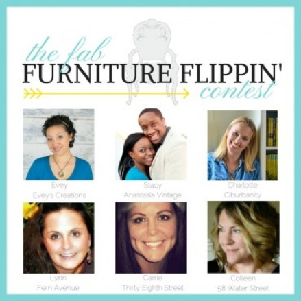 Fab Furniture Flippin Contest {Love My DIY Home}