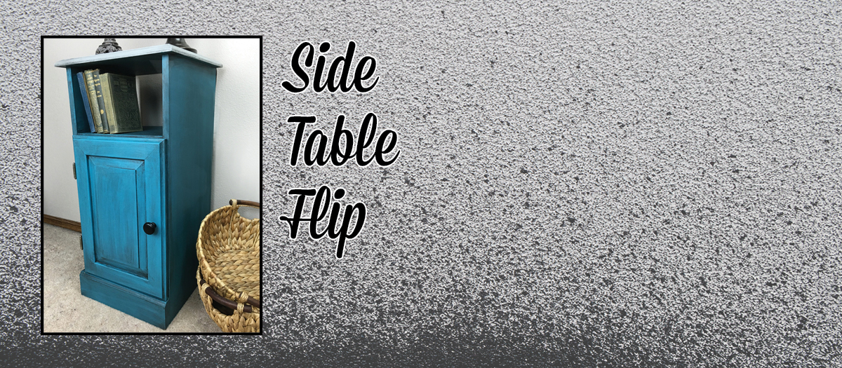 Side Table Flip {Love My DIY Home}
