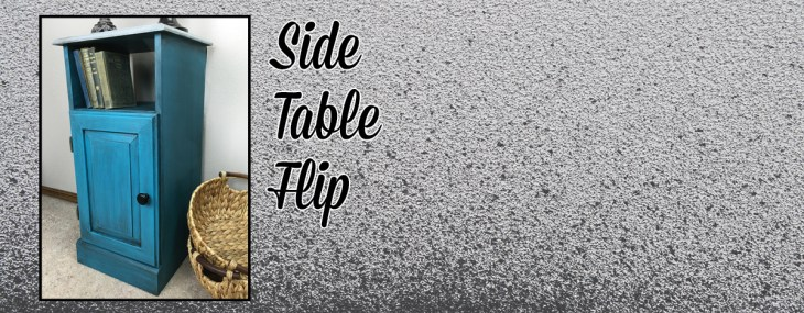 Cheapo Side Table Flip – February Fab Furniture Flippin Contest