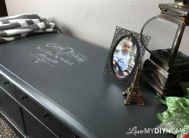 Blanket Chest Flip using L'Essentiels Botanics {Love My DIY Home}
