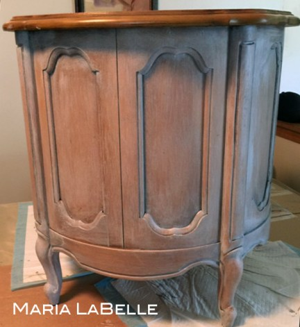 French Provincial Drum Table Revival {Love My DIY Home}