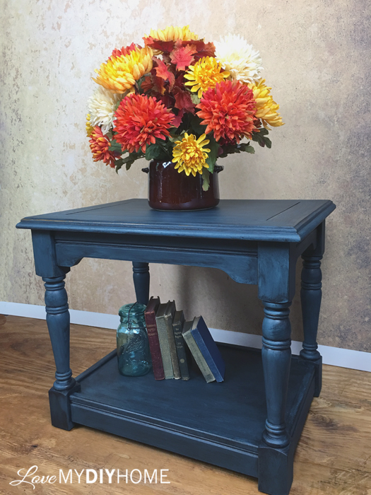 Painted End Tables U0026 Wise Owl Chalk Synthesis Paint {Love My DIY Home}