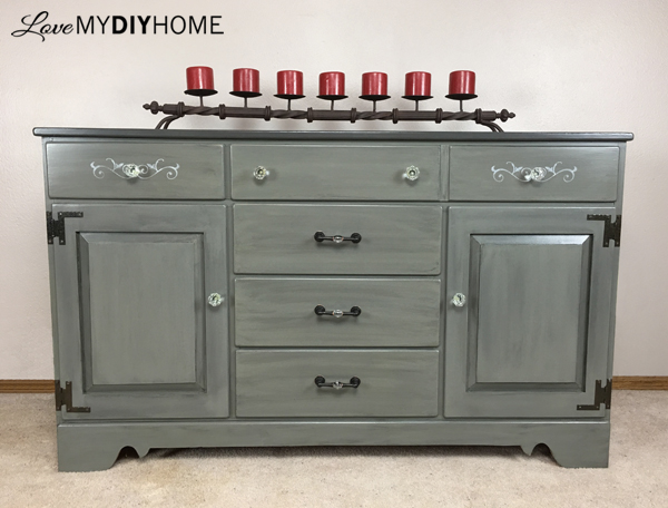 D. Lawless Hardware for a China Cabinet Turned Buffet {Love My DIy Home}