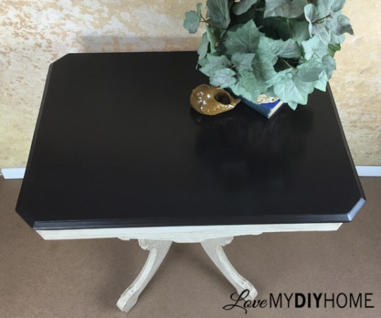 Java Gel Table Top {Love My DIY Home}