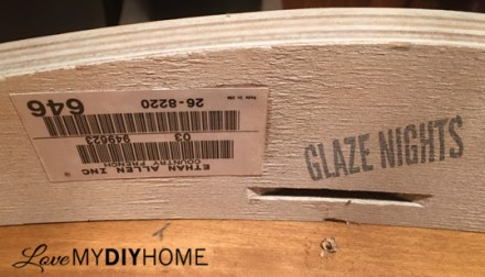 Ethan Allen Coffee Table Updated {Love My DIY Home}
