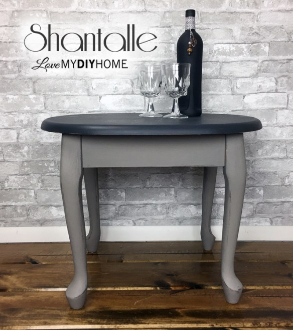 Annie Sloan Chalk Paint Renews End Table {Love My DIY Home}