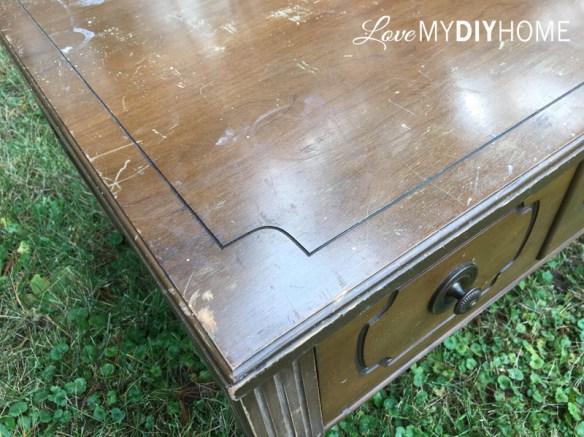 MCM End Table {Love My DIY Home}