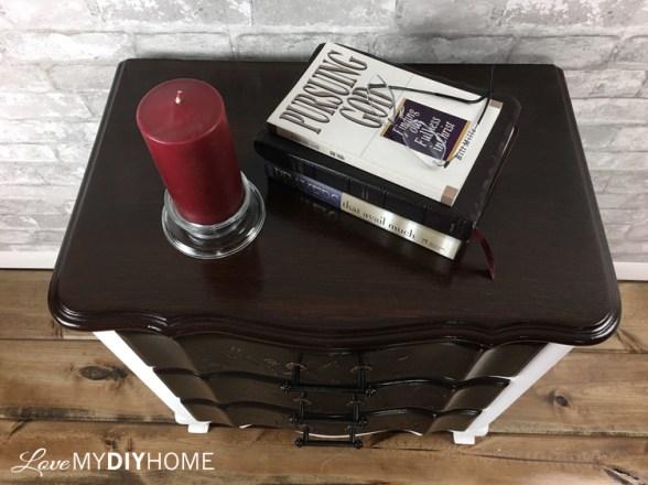 Steam Punk Nightstand {Love My DIY Home}
