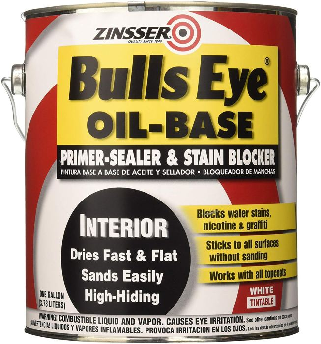 oil based Zinsser primer