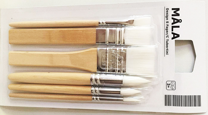 IKEA paint brushes