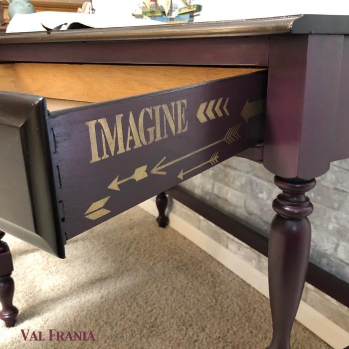 World Corner Desk Drawer side2