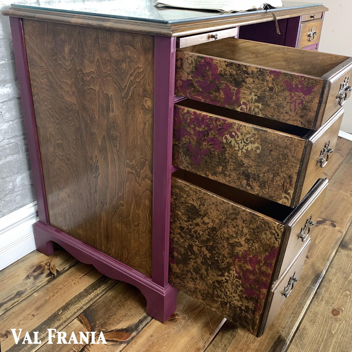 Thomas Desk side + drawers