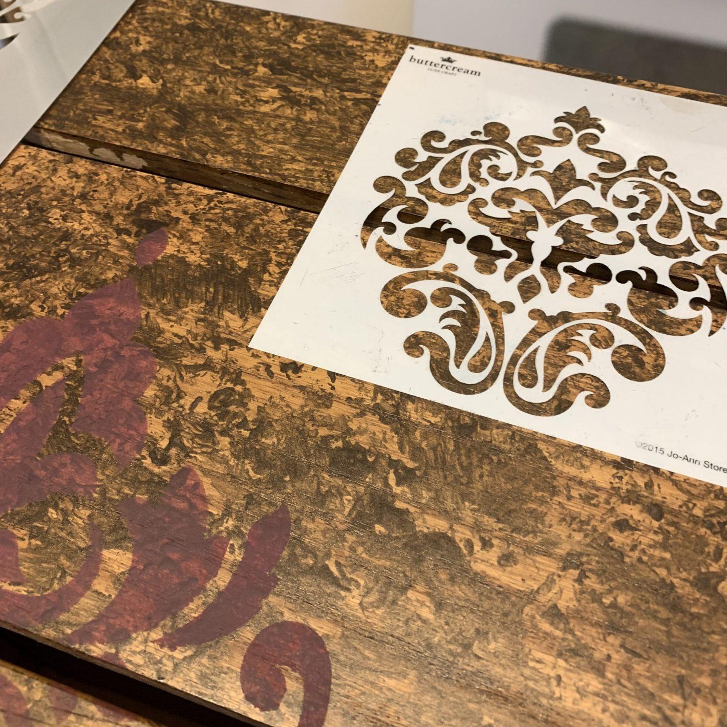 stencil drawer
