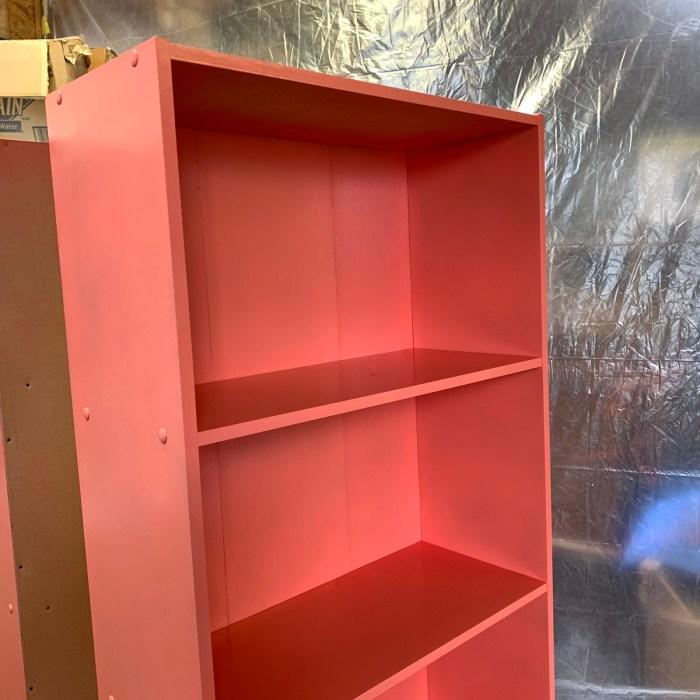 Bookshelf Orange