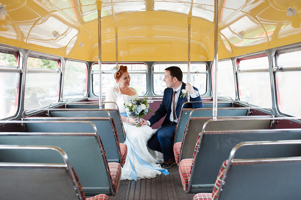 A 1940s Vintage Inspired Pale Blue Wedding Love My Dress