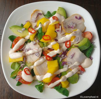 salade met mango 3