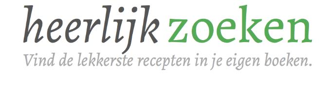 HeerlijkZoeken.nl: Doorzoek je kookboeken digitaal!