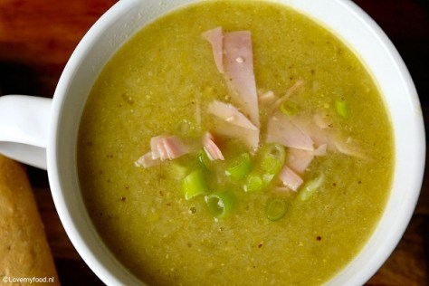 soep met prei en lente ui 3