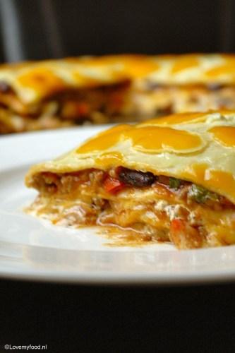 Mexicaanse lasagne 2